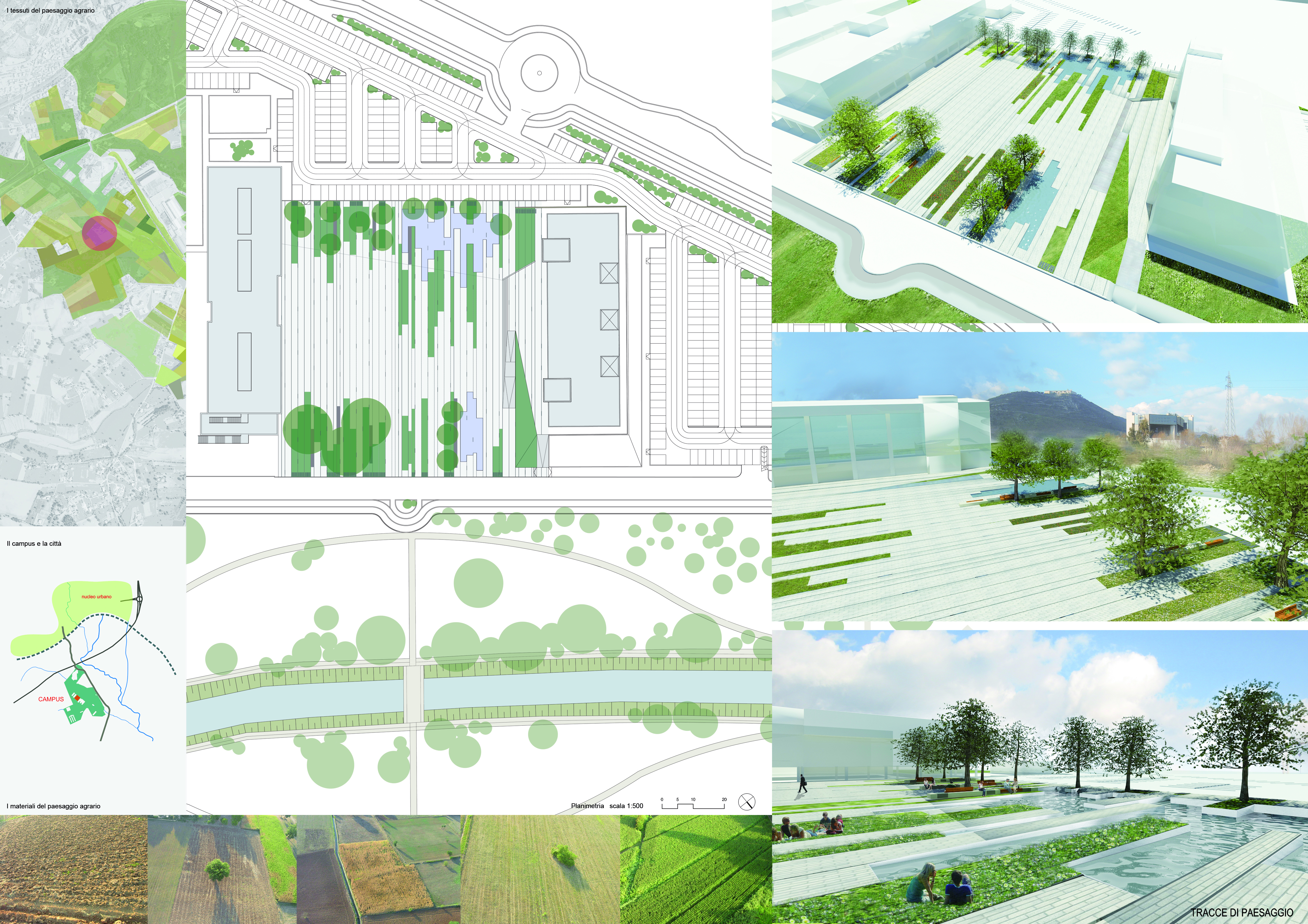 Tracce di paesaggio elenco progetti progetti for Progetti di costruzione del mazzo